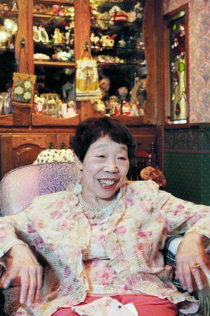 日作家田邊聖子膽管炎病逝 享耆壽91歲。(圖/翻攝自twitter)