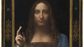 義大利文藝復興巨匠達文西的曠世鉅作「救世主」自2017年在拍賣會上高價成交後便未公開展示,使得它的擁有者、下落與真實性啟人疑竇。(圖/翻攝自佳士得官網)