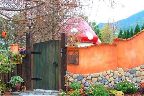花見幸福蘑菇屋;部落客:「肉魯 走遍全台灣‧環遊全世界」授權