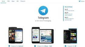 Telegram (圖/翻數自Telegram網站)