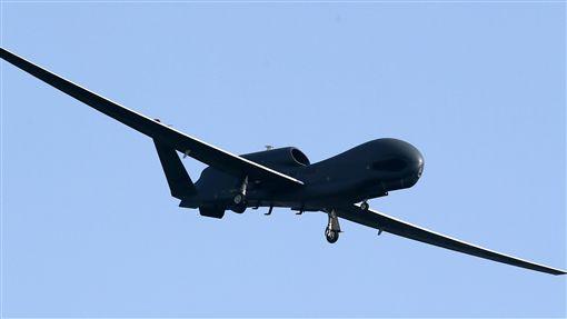 美軍「全球鷹」無人機_美聯社