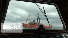 油輪,遇襲,中油(圖/翻攝自IRNA News Agency twitter)