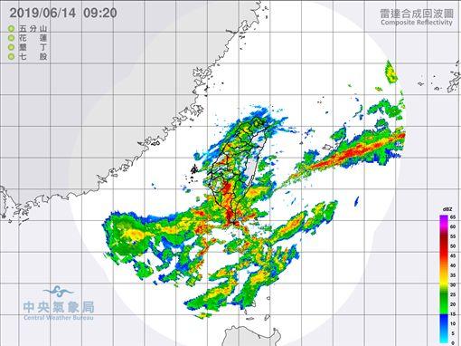 滯留鋒,鋒面,降雨,豪雨,/中央氣象局