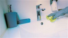 (圖/Pixabay)洗手台,清潔,打掃