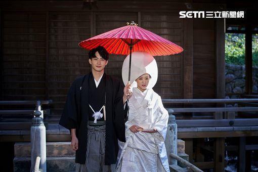 《愛情白皮書》,王淨,張庭瑚,日本婚禮。(圖/東森提供)