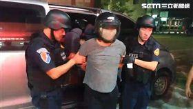 台南,殺警,槍擊,警察(圖/翻攝畫面)