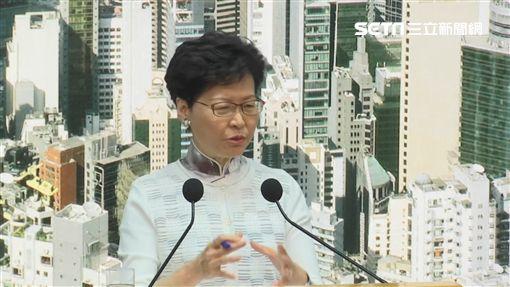 香港特首林鄭月娥圖/翻攝自AP影音