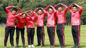 ▲中華射箭代表隊。(圖/至中華企業射箭聯提供)