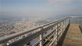 台北101,戶外觀景台,美景(記者郭奕均攝影)