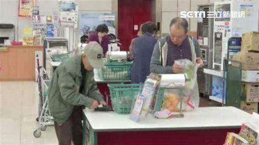 日本,超商,超市,採購,購物,塑膠袋,結帳