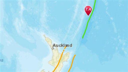 紐西蘭地震(圖/翻攝自推特)