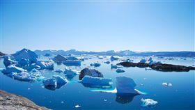全球暖化,氣候異常,北極,冰層,格陵蘭島,冰山,融冰(圖/翻攝自Pixabay)