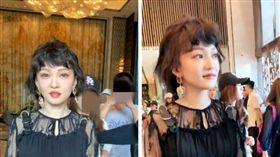 張邵涵戒2食物!37歲「凍齡短髮」照曝光 網:精靈轉世(圖/翻攝自微博乱登登La)