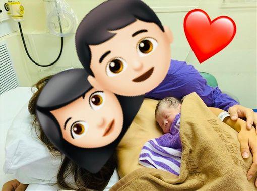 香港,生產,嬰兒,Skin to Skin(圖/翻攝自膠膠的姑娘臉書)