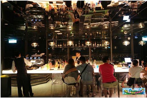 村却 THE ROOF 190~媲美曼谷夜景的高空酒吧!徜徉蘭陽平原百萬夜景(圖/部落客:「肉魯 走遍全台灣‧環遊全世界」授權提供,非經同意請勿轉載。