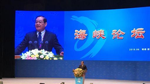 曾永權,會見中國全國政協主席,汪洋,海峽論壇開幕致詞,中國國民黨提供