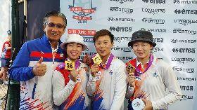 台灣女箭客寫歷史  世錦賽摘反曲弓隊