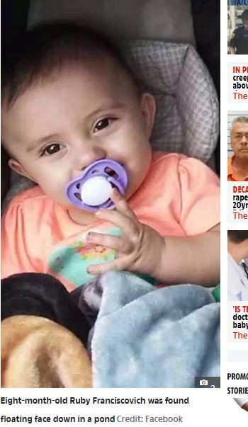 8月大女嬰淪噁父「發洩娃娃」 完事後棄屍池塘(圖/翻攝自太陽報)