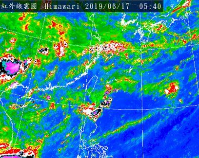 老大洩天機/天氣悶熱水氣增 有局部短暫陣雨