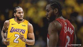 NBA/太夢幻!湖人傳將追求雷納德 NBA,洛杉磯湖人,多倫多暴龍,Kawhi Leonard 翻攝自推特ClutchPoints