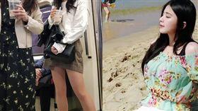 台灣女生獲得日網友大讚。(示意圖,非當事者,組圖/翻攝自臉書)