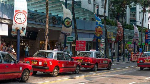 香港,計程車(圖/取自Pixabay)
