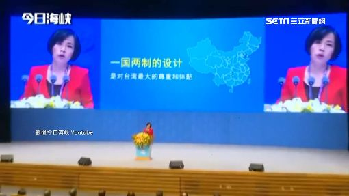 海峽論壇喊「統一」 黃智賢:一國兩制是中國體貼