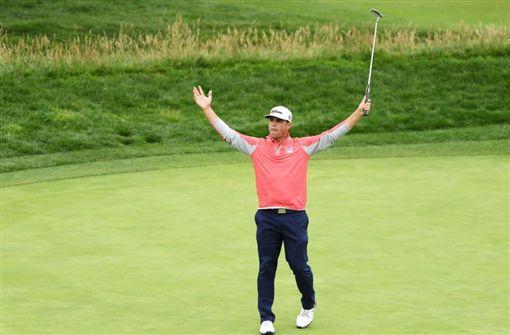 ▲伍蘭德奪生涯首座大賽冠軍。(圖/翻攝自PGATOUR推特)