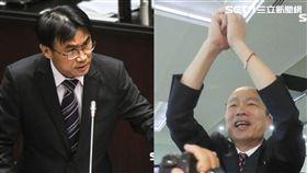 韓國瑜,陳吉仲,農委會,巴拉刈 圖/資料照