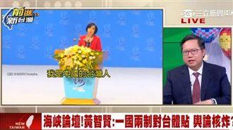 黃智賢:帶台灣回中國!鄭文燦批噁心
