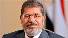 埃及前總統穆希。(圖/翻攝自推特)