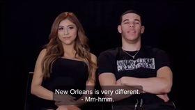 NBA/糗!球哥批紐奧良影片被挖出 NBA,洛杉磯湖人,紐奧良鵜鶘,Lonzo Ball 翻攝自推特