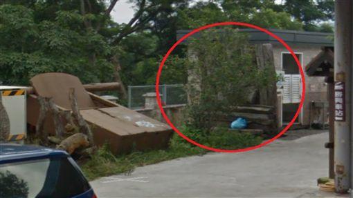 黃國男,木雕,公廁,藝術品 圖/翻攝Google Map