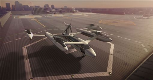 ▲Uber打造VTOL垂直飛行載具。(圖/翻攝網站)