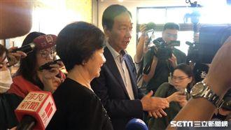 郭董:若蘇貞昌出來選,我會投他一票