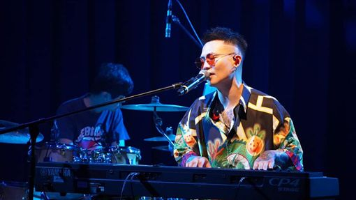 蕭秉治,Billboard Live OSAKA。(圖/臉書)