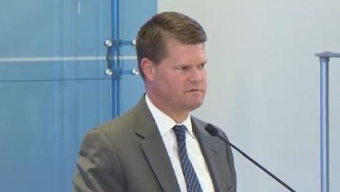 美國國防部亞太助理部長薛瑞福(Randall Schriver),是知名的「友台派」官員。(圖/翻攝自YouTube,American Enterprise Institute)