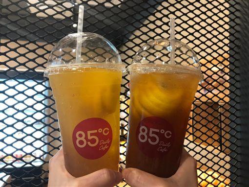 飲料,冰,85度C。