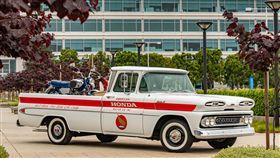 ▲American Honda修復的Chevrolet貨卡。(圖/翻攝網站)