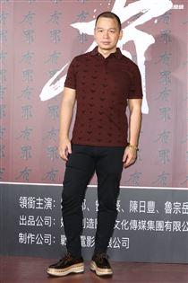 電影《有罪》特映會,導演魯宗岳。(記者林士傑/攝影)
