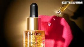 【蘭蔻新品】頂級玫瑰精華油&22K金箔凝聚而成《絕對完美玫瑰金粹妝前露》