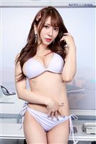 日本AV女優園田美櫻接受三立新聞網專訪。(記者林士傑/攝影)