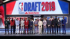 ▲2019年NBA選秀會。(圖/翻攝自NBA推特)