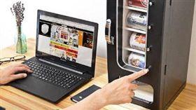 日本THANKO公司推出桌上型販賣機。(圖/翻攝自THANKO官網)