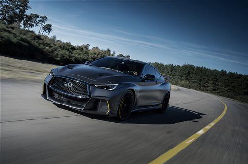 ▲Q60 PROJECT BLACK S原型概念車。(圖/INFINITI提供)