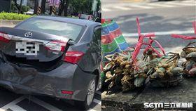 彰化中山路計程車撞小客車
