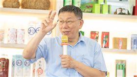 柯文哲赴台東採茶座談 圖/柯粉俱樂部提供
