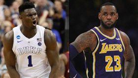 NBA/詹皇「這密技」威廉森想知道 NBA,選秀,狀元籤,紐奧良鵜鶘,Zion Williamson,LeBron James 翻攝自推特