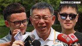 柯文哲赴台東鹿野參觀熱氣球飛行學校 圖/記者黃宣尹攝影
