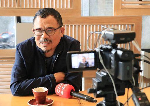 印尼導演嘎林.努(弋一)羅和將訪台曾獲柏林影展等諸多國際獎項的嘎林.努(弋一)羅和是印尼國際知名導演。他獲邀擔任2019年台北電影節的焦點影人。中央社記者石秀娟雅加達攝 108年6月22日